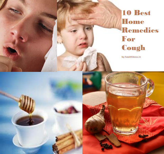 10 Best Home Remedies For Cough : Health Boss