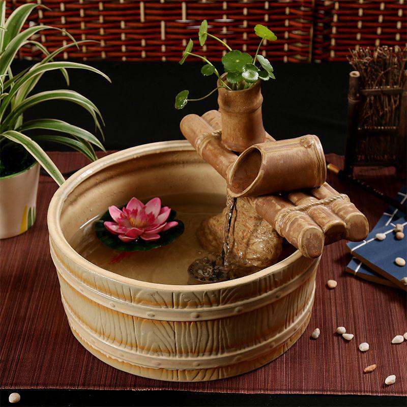Cheap cer mica fuentes de agua sala de estar casera - Decoracion feng shui ...