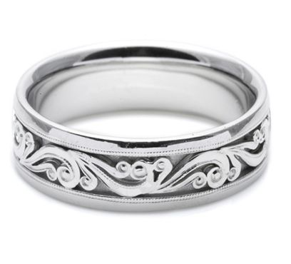 I Heart This Band From Tacori Style No Ht2392 Unique Womens Wedding Rings Mens Wedding Rings Tacori Wedding Rings