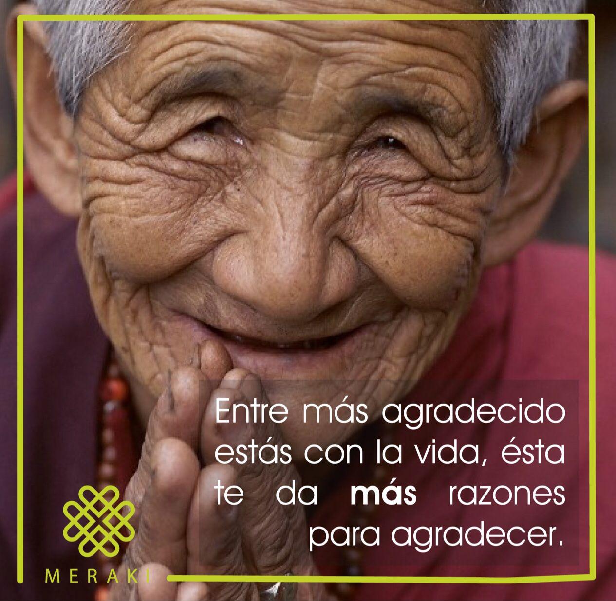 La vida nos brinda infinitas posibilidades para estar agradecidos ...