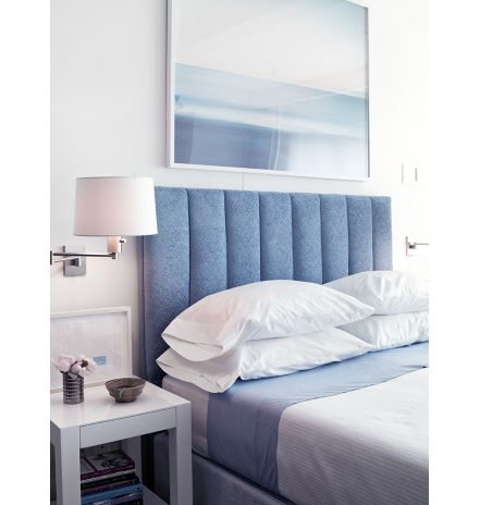 Pale blue bedroom Timothy Brown A Place To Lay Your Head