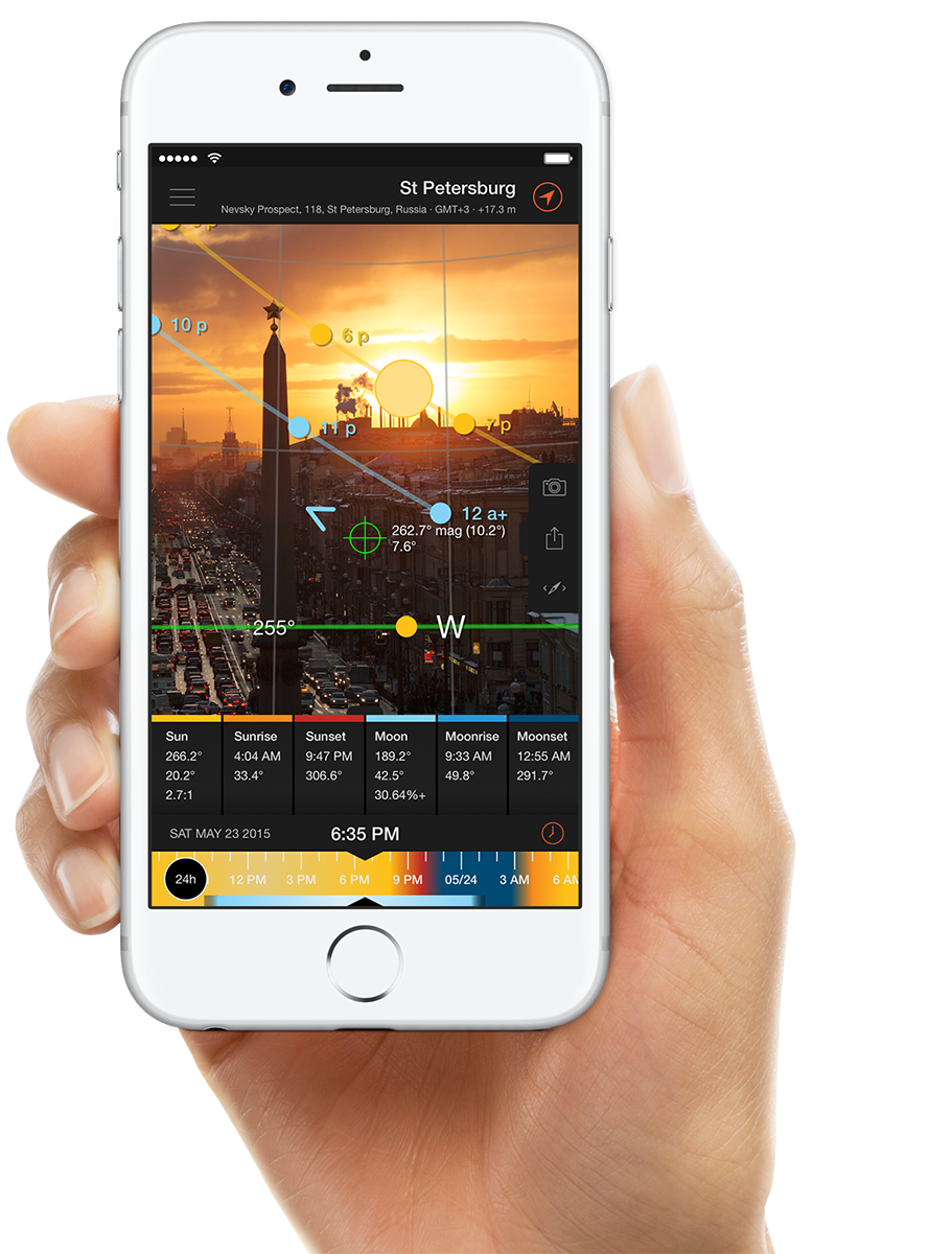 Sun Surveyor - app for shooting locations and knowing both