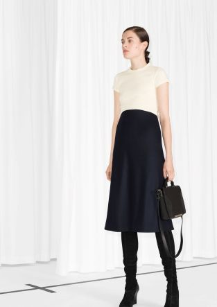 Midi Wool Skirt | Jill Dress