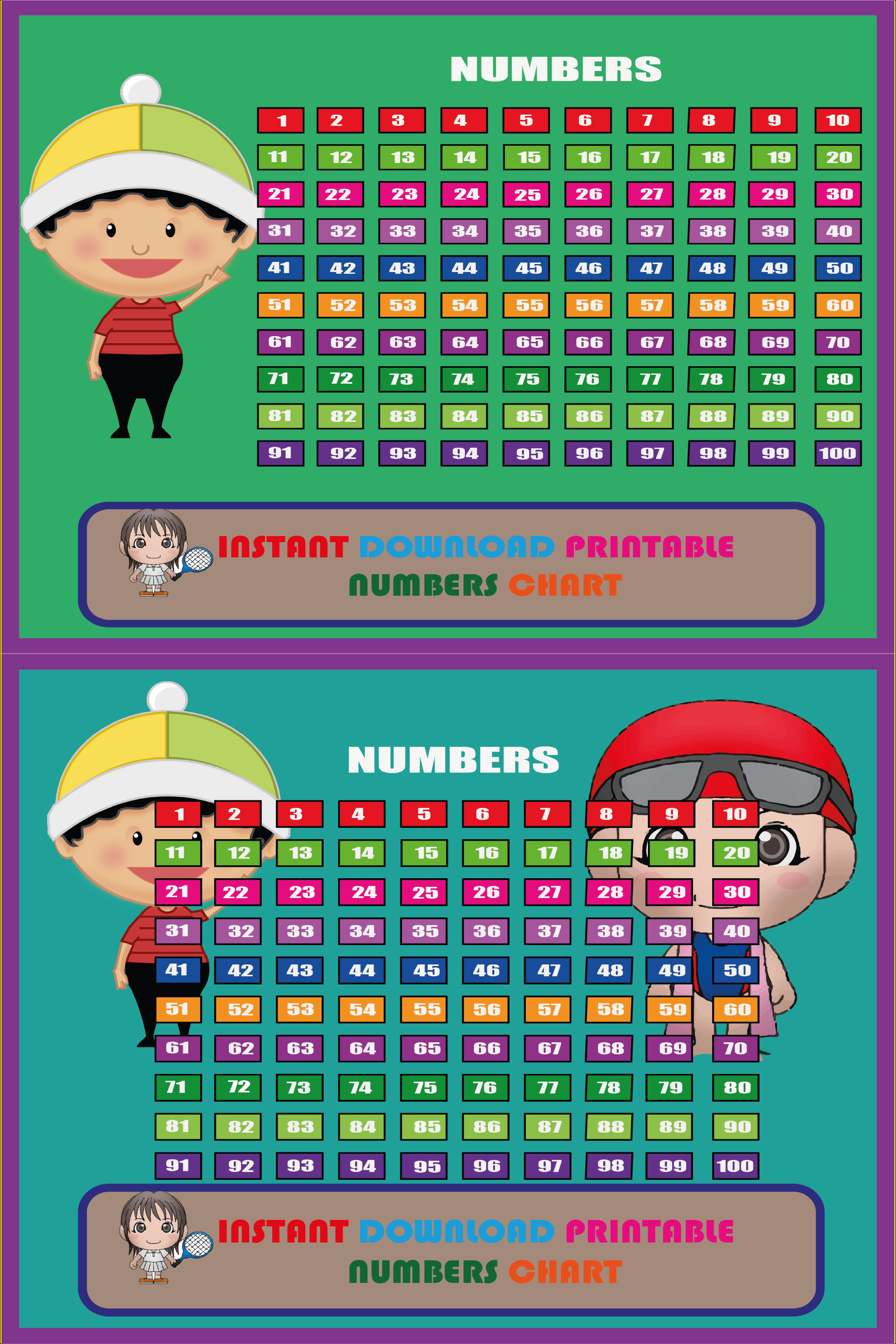 Number Chart In 2021 Education Home Learning Counting To 100 [ 6250 x 4167 Pixel ]
