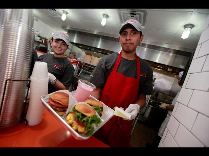 YoBurger American diner, Riverdale, Bronx