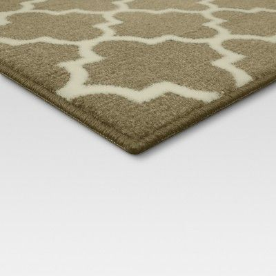 4 X6 Fretwork Design Area Rug Tan Threshold Size 4 X6
