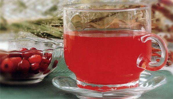 Cranberry water. Recipe: http://wonderdump.com/cranberry-water/