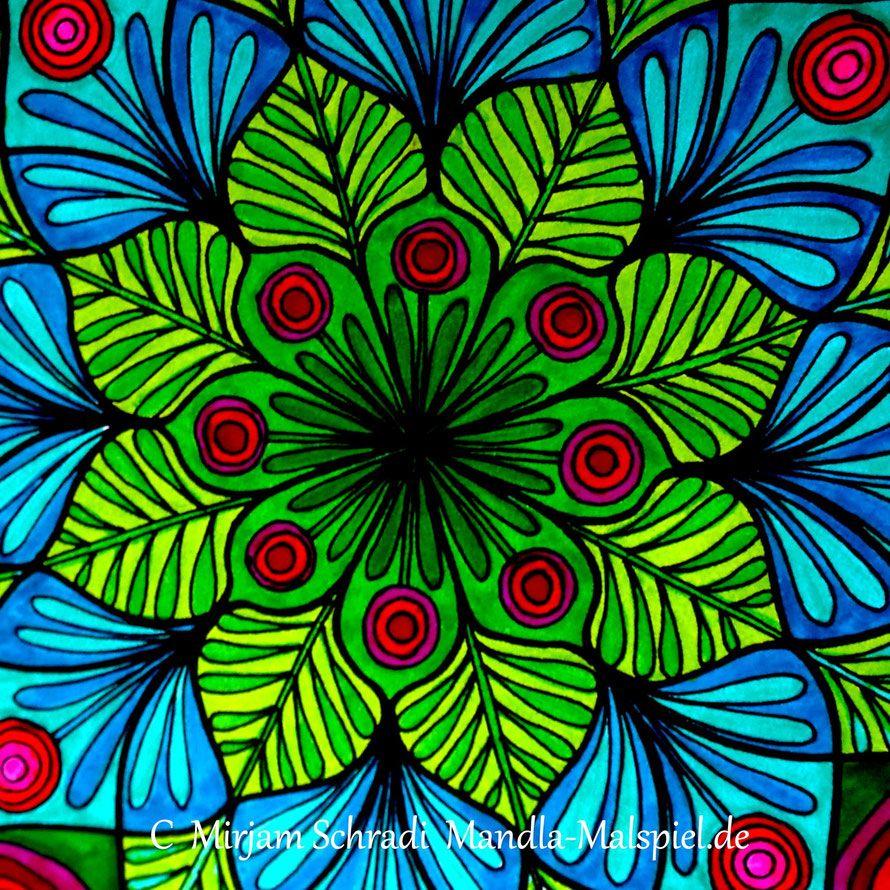 Mandalas für Erwachsene Mandalas zum Ausdrucken und Ausmalen Blumen ...