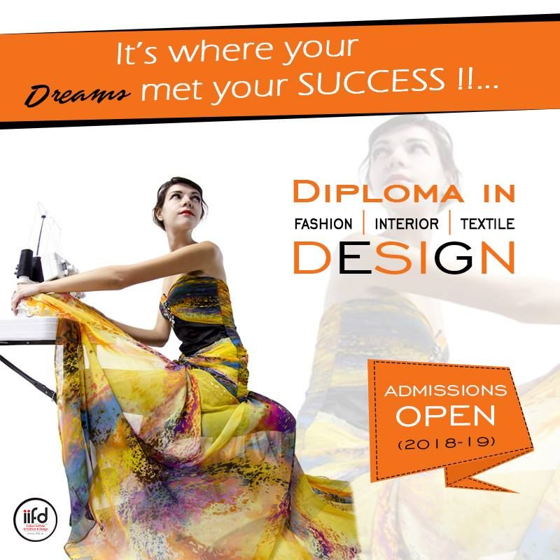 Iifd Admissions Open 2020 21 Limited Seats Available Fashion Designing Institute Fashion Designing Course Admissions