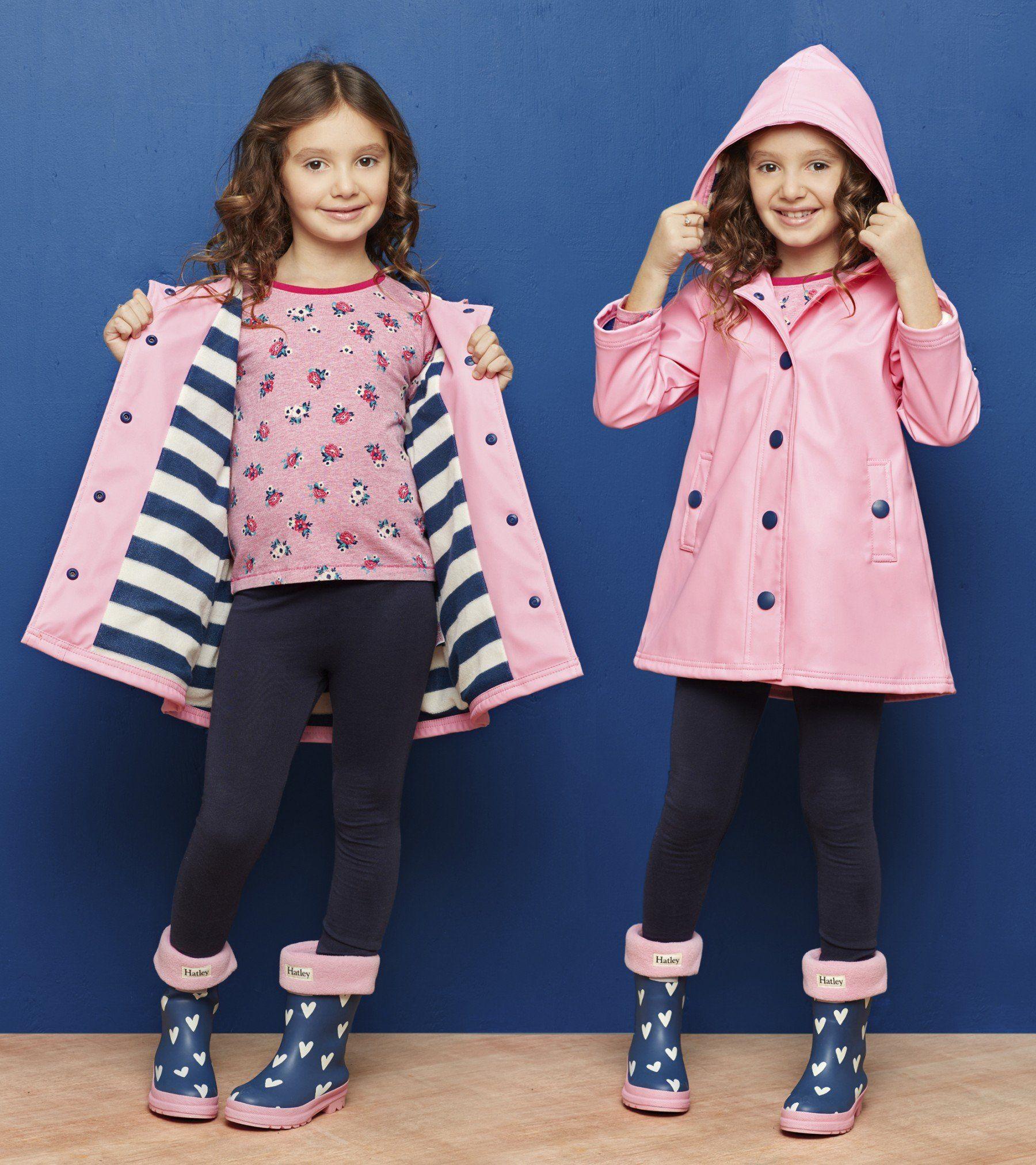 e430495a3b5d Classic Pink   Navy Splash Jacket - Rainwear - Shop All - Girls ...