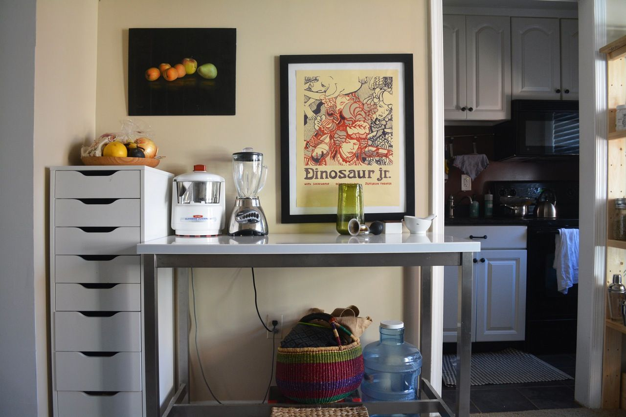 Adventure, Antiques & Art in an Arlington Apartment