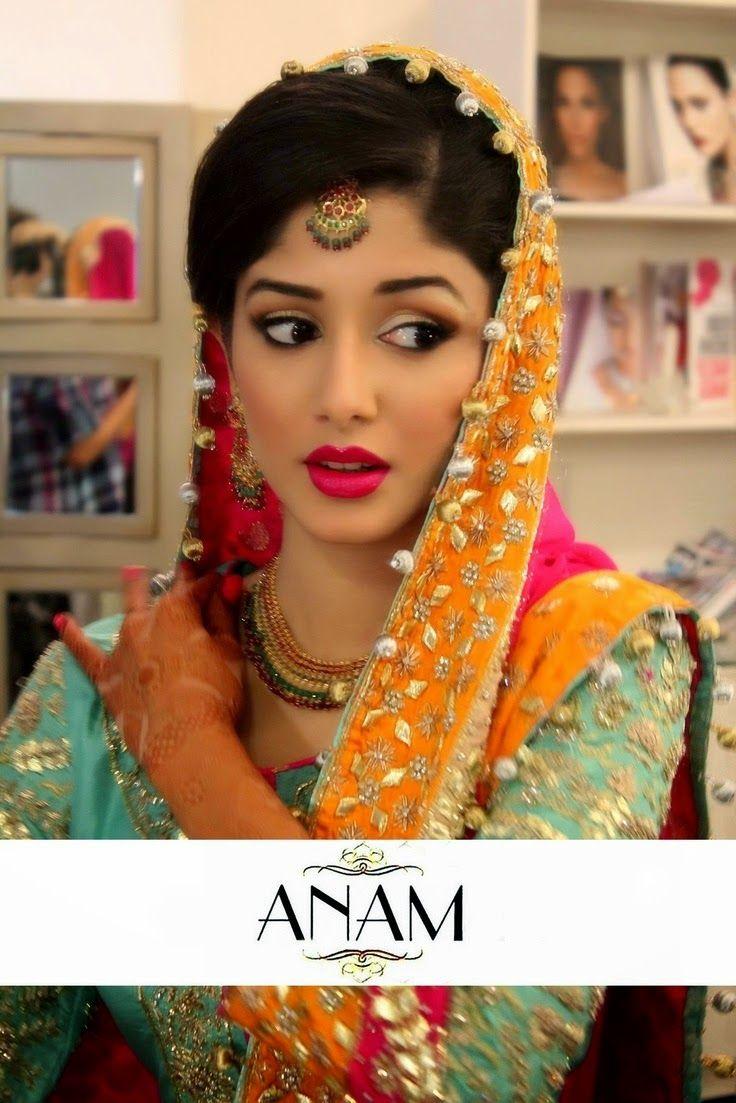 new bridal mehndi dress 2015   shalwar kameez designs   pinterest