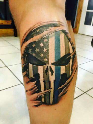 Pin by gina pellerin on law enforcement tattoos for Law enforcement tattoos pictures