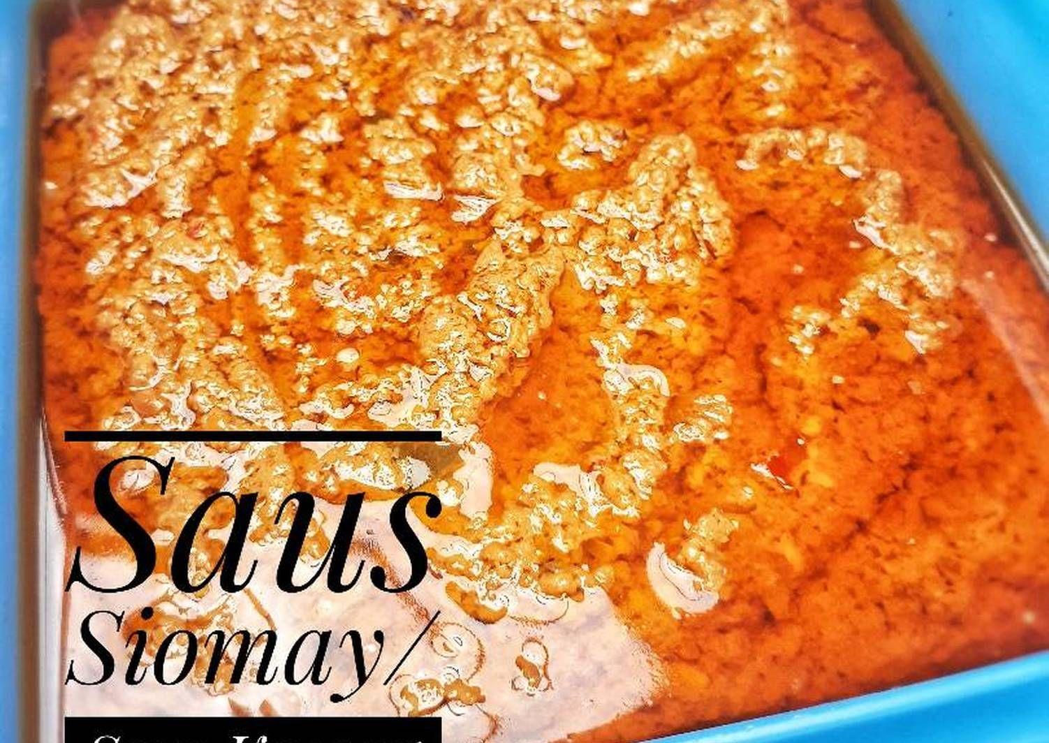 Resep Saus Siomay Saus Kacang Oleh Yasmin Kitchen Resep Ide Makanan Makanan Resep