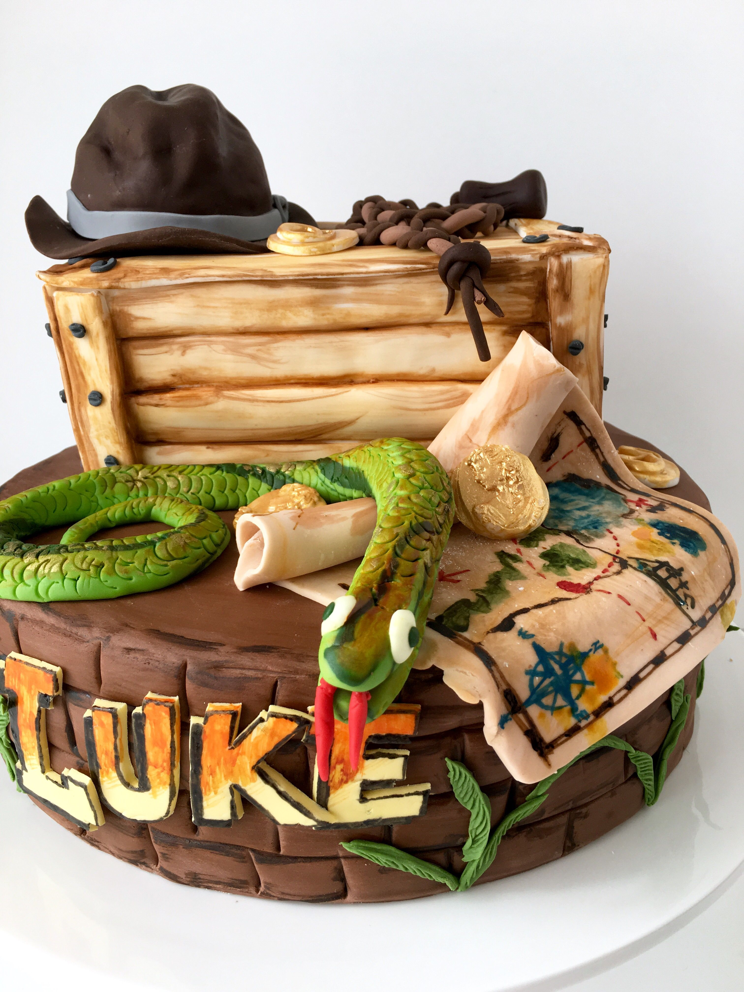 80u0027s 1981 Indiana Jones Cake 80u0027s 1981