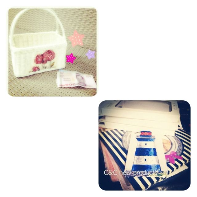 Cute basket and case from C Furniture :)