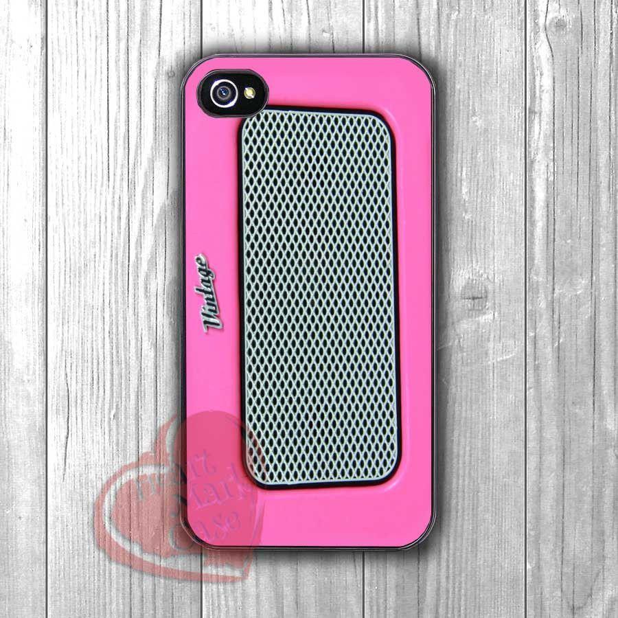 Pink Retro Radio - Fzia for iPhone 6S case, iPhone 5s case, iPhone 6 case, iPhone 4S, Samsung S6 Edge