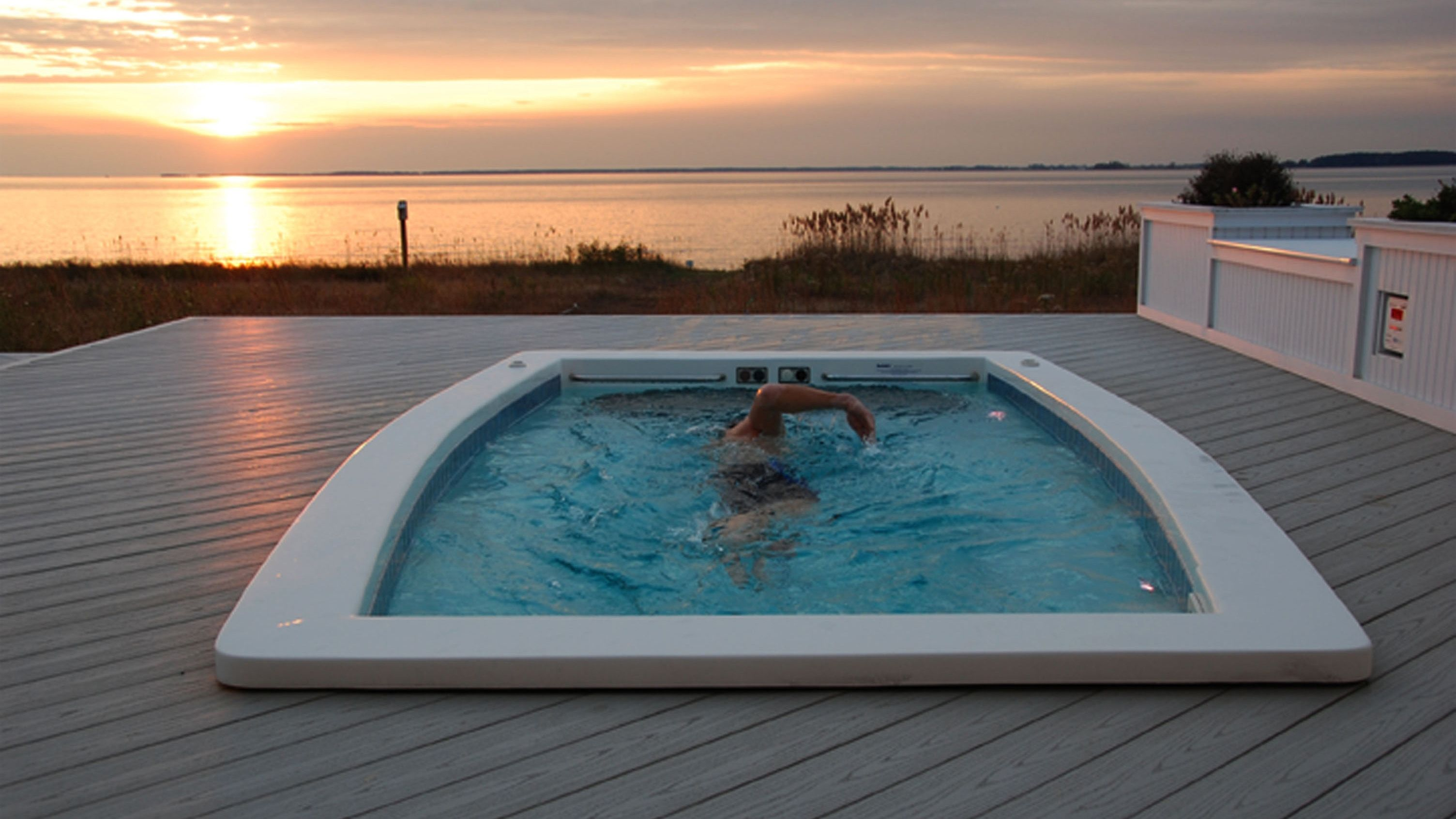 Best Swim Spas 2020 Space Saving Home Pools At Every Price
