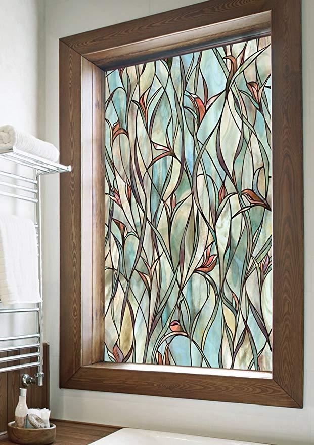 Amazon Com Artscape Savannah Window Film 24 X 36 Kitchen