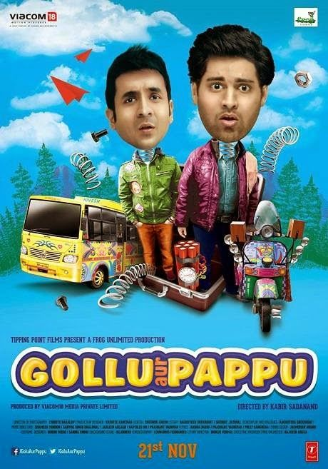 Gollu Aur Pappu (2014) WebHDRip Full Hindi Movie Free Download http://