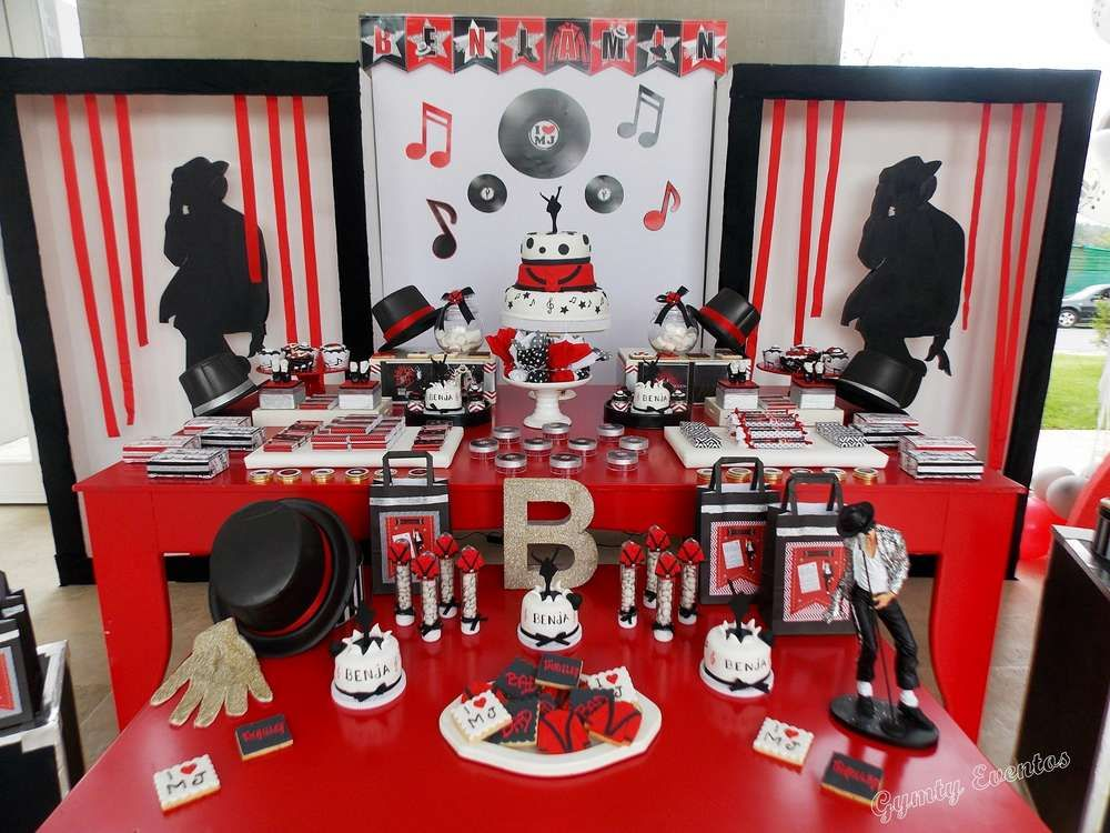 Michael Jackson party balloons | Michael Jackson Birthday Party ...