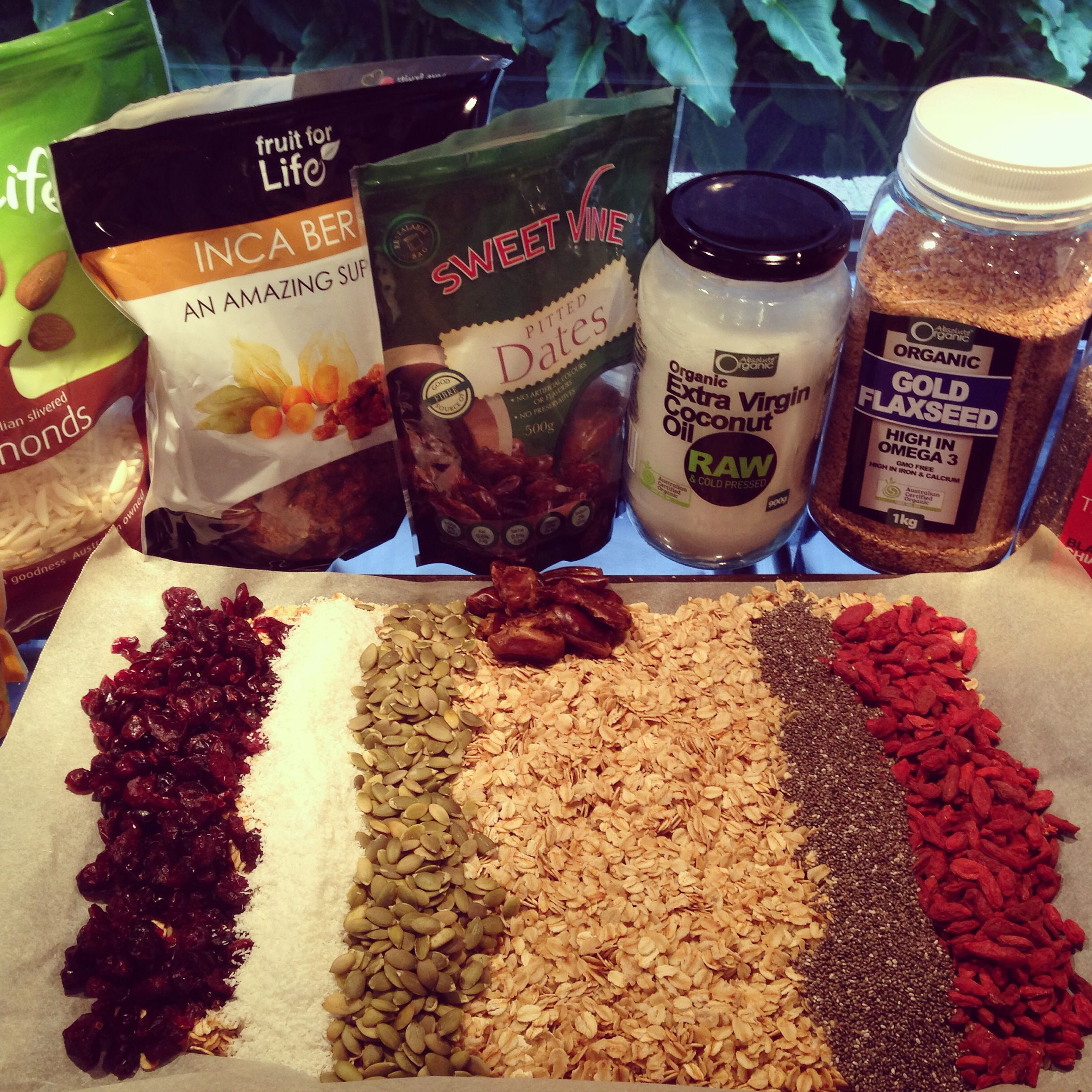 Clean Muesli Recipe - Maddie Race Holistic Health Coach