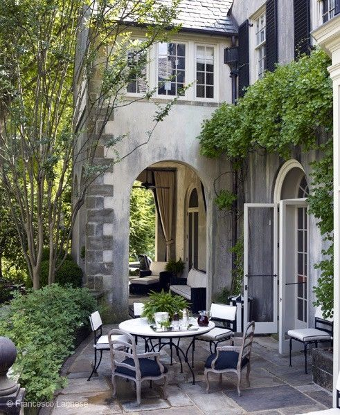 I want this porch! via Dwell with Style