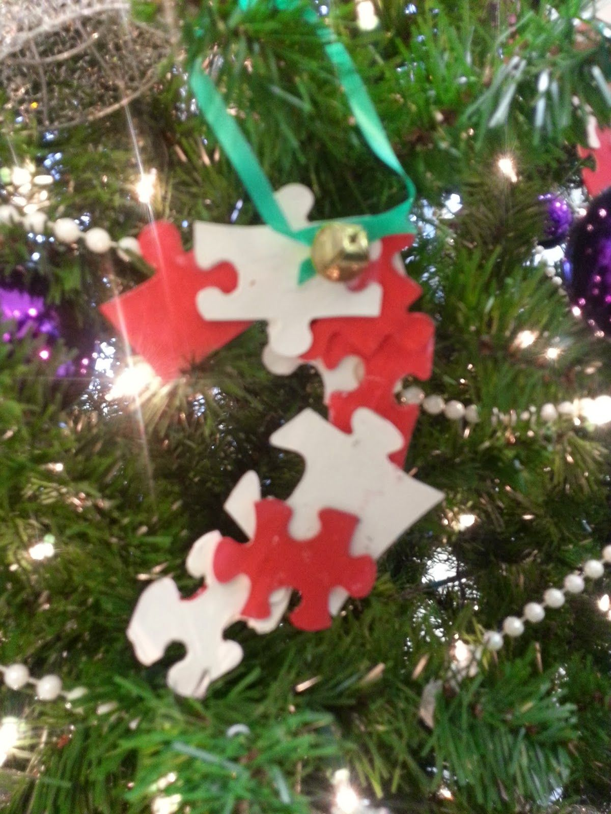 Christmas Decorations Crossword : Candy cane ornaments our super cute kids club craft