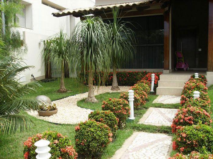 Jardins residenciais modernos pesquisa google quintal - Fotos de jardines modernos ...
