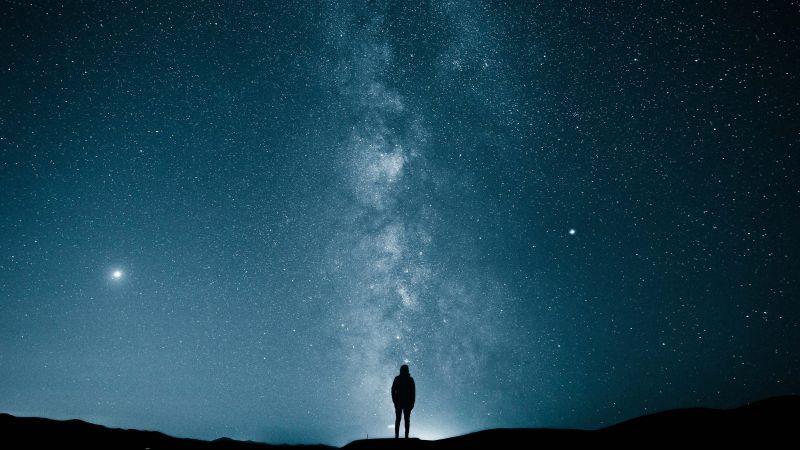 Milky Way Stars 4k Horizontal 4k Wallpapers For Pc Aesthetic Wallpapers 4k Wallpaper For Mobile