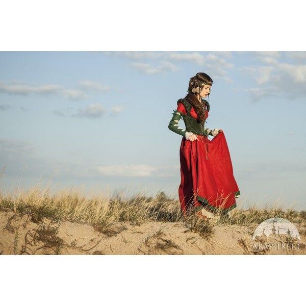 """Kleid mit Korsett und Hemd """"Tochter des Alchimisten"""" (£360) ❤ liked on Polyvore"""
