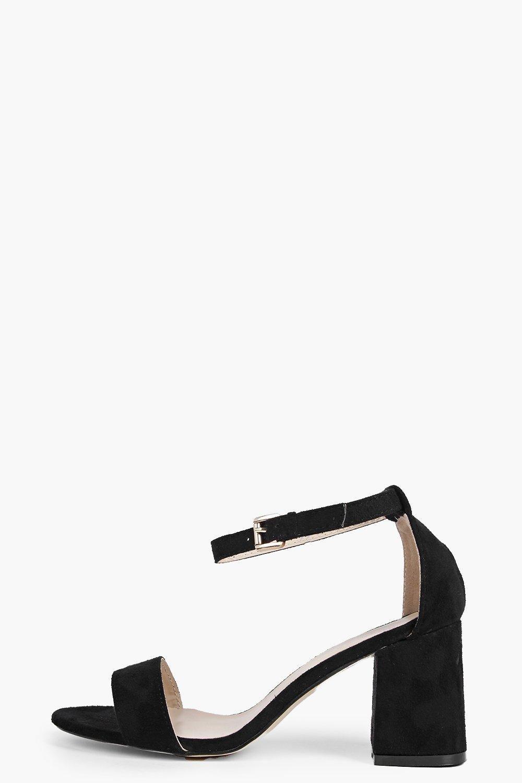 8fc912e612d Ava Low Block Heel Two Part Sandal