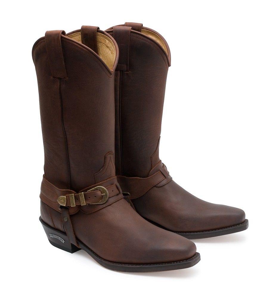 Neu SENDRA Herrenschuhe Stiefeletten Stiefel Leder Schuhe Biker-Boots Schwarz