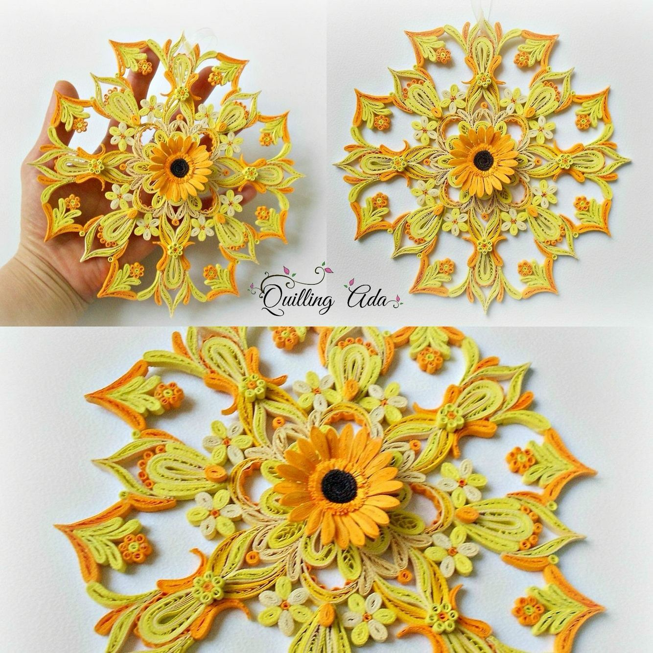 Pin by Sylvia H on Gorgeous Quill | Pinterest | Quilling, Quill and ...