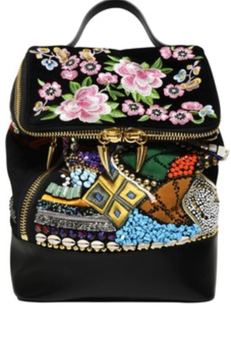 a791c0f9b0b2e giuseppe zanotti embroidered backpack | closet | Backpacks, Bags ...