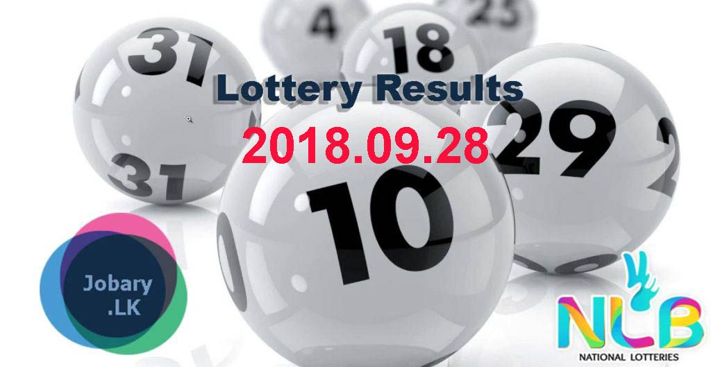 NLB Lottery Result 2018 09 28 Lottery results, National