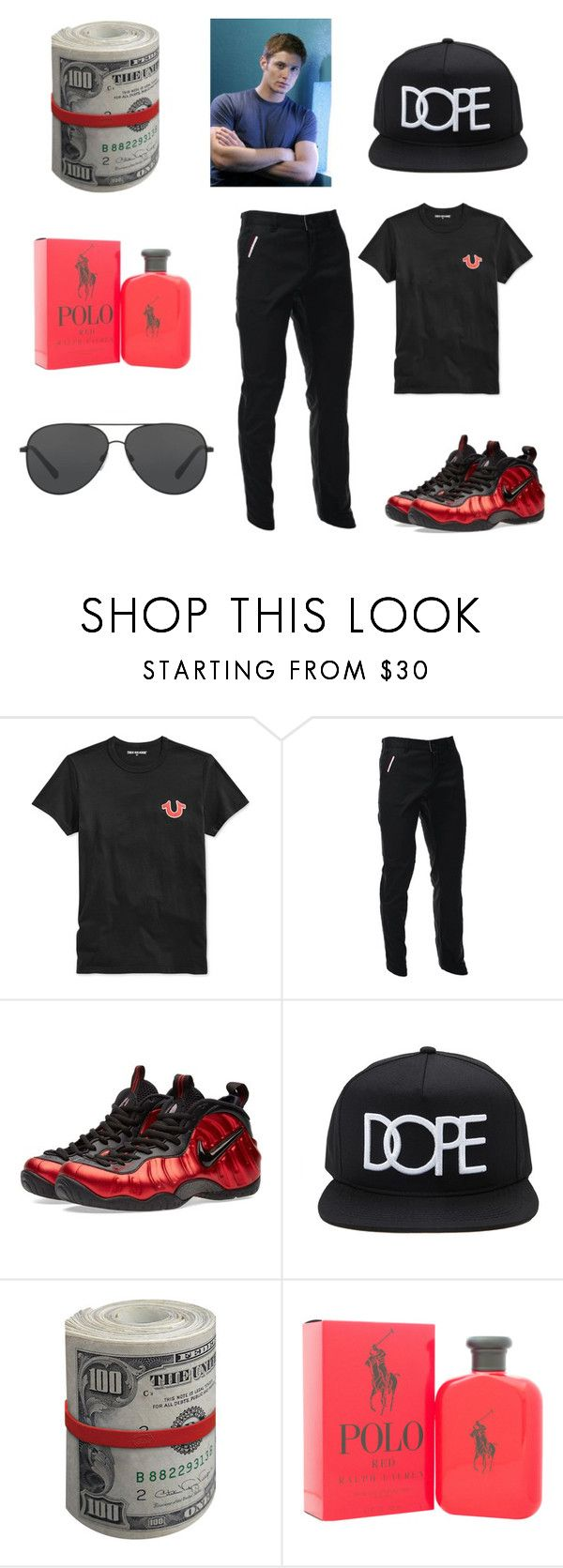 """""""my cousin jordan outfit"""" by essiebernadette on Polyvore featuring True Religion, NIKE, Forever 21, Ralph Lauren, Michael Kors, men's fashion and menswear"""