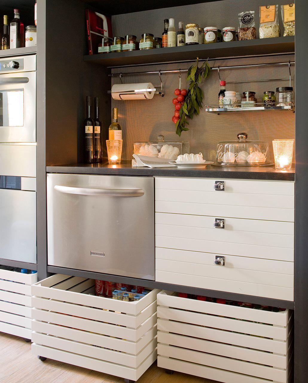 15 soluciones para tener tu cocina en orden · ElMueble.com · Cocinas ...