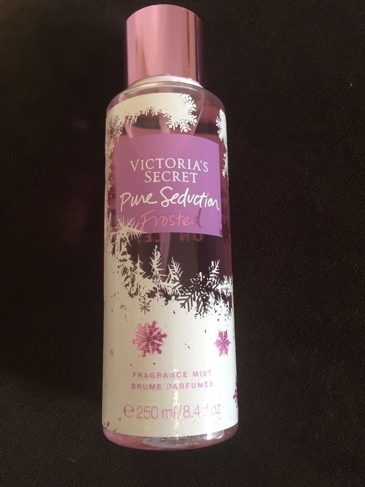 f1aad4063d7f2 VICTORIA SECRET FRAGRANCE Frosted Fragrance Mist Pure Seduction ...