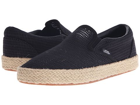 593a91964af VANS Classic Slip-On Espadrille.  vans  shoes  sneakers   athletic shoes