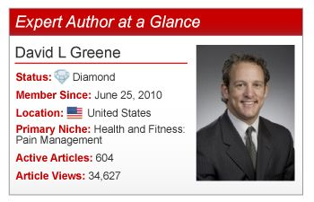 Medical Entrepreneur & Internet Marketing Expert David L. Greene shares his advice with Expert Authors.
