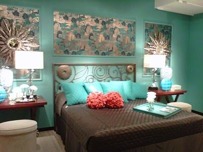 Maxwell House Of Design Favorite Showrooms From The High Point Market Yes There Is Still Much Turquoise Bedroom Decor Purple Bedroom Walls Turquoise Room