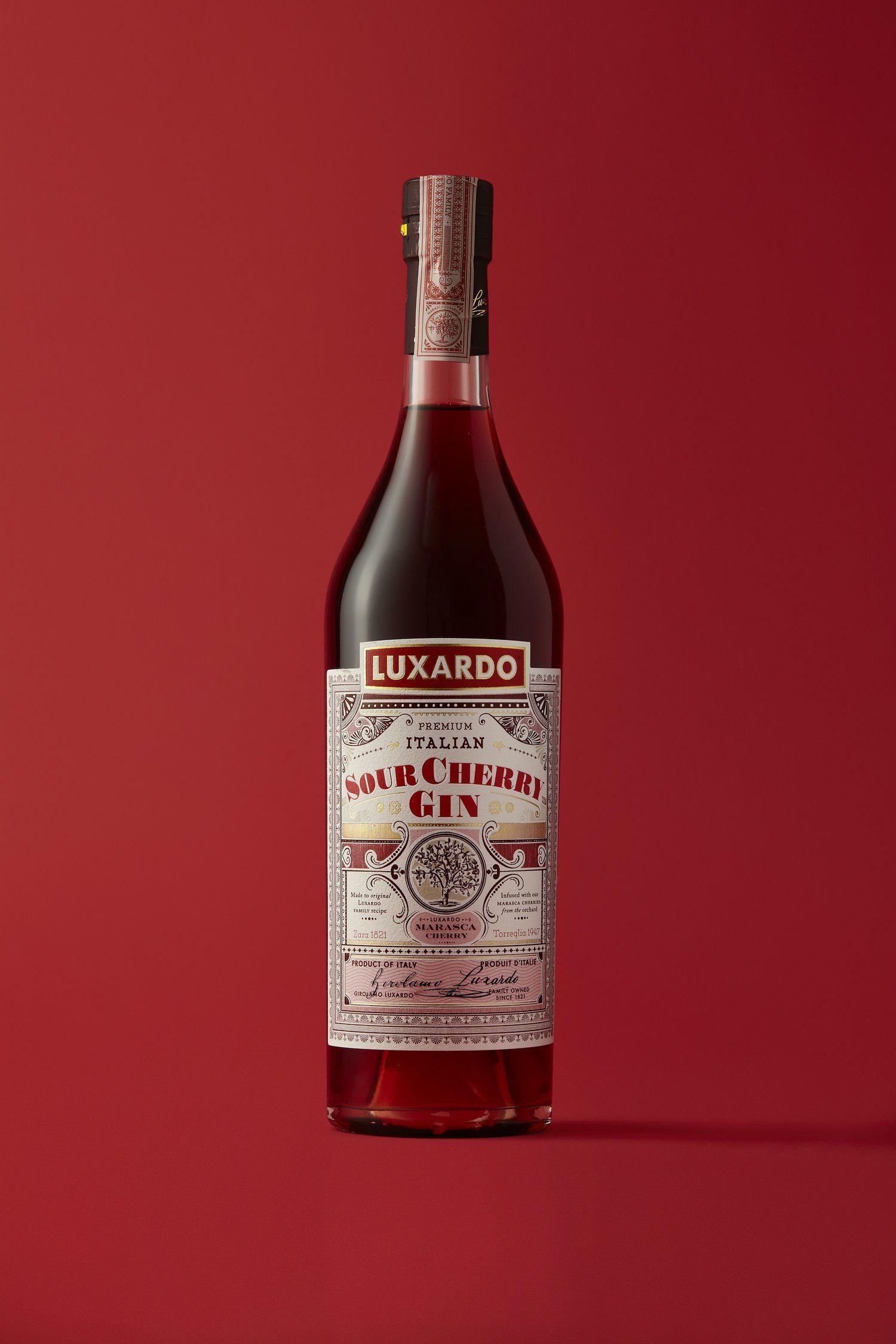 Here Design Honors Luxardo Brand With Historical Bottles Premium Gin Beverage Packaging Bottle