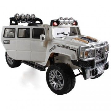 Extended Hummer H3 Style Kids 12v Ride On Car With Remote Control Kids Ride On Power Wheels Toy Car