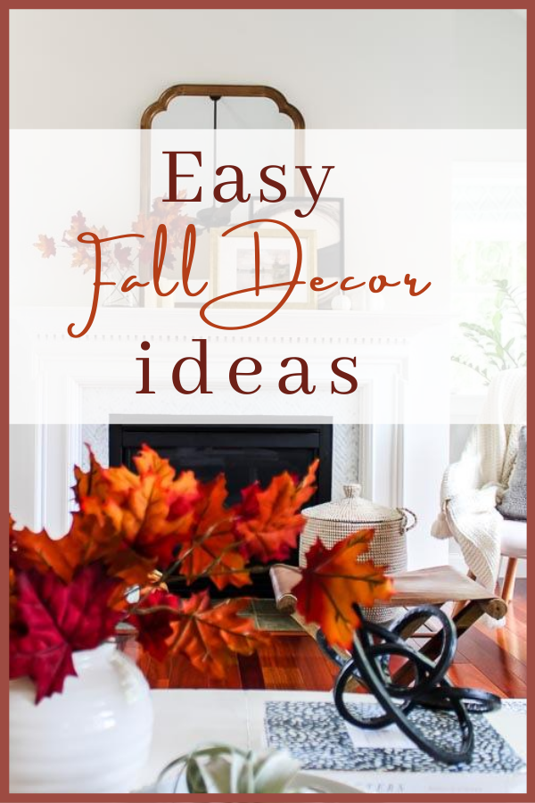 Easy and affordable ways to decorate your home for fall