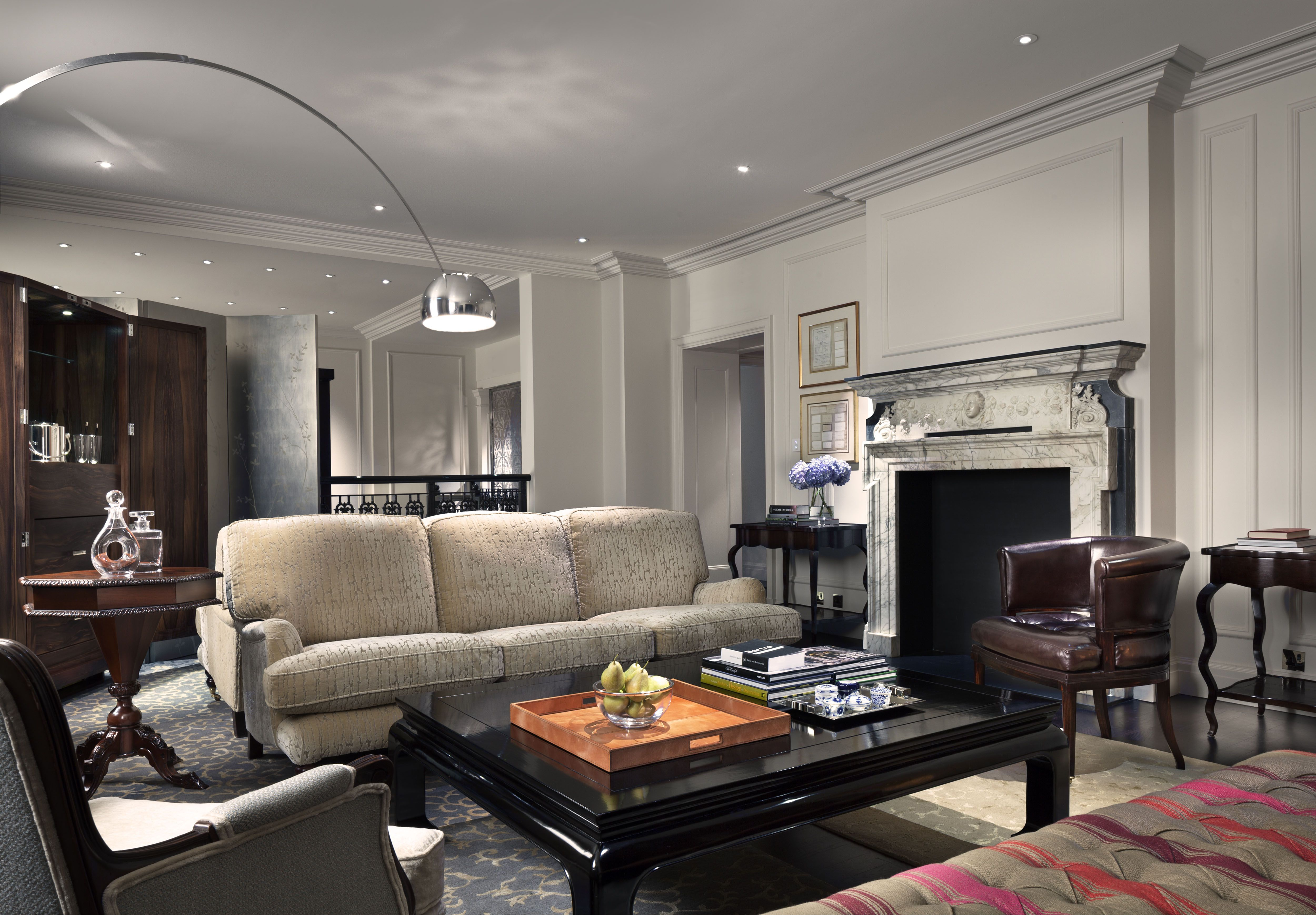Rosewood hotel london chancery house suite living room hotel review and booking available
