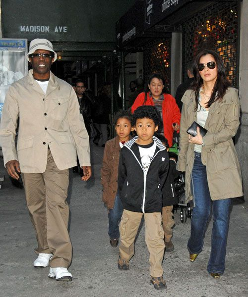 Pin By C J D On Black Celebrity Kids Black Families Celebrity Families Interracial Family