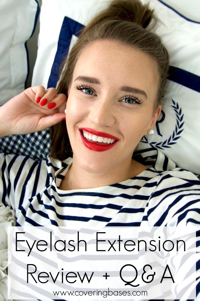 Video: Eyelash Extensions Review   Eyelash extensions ...