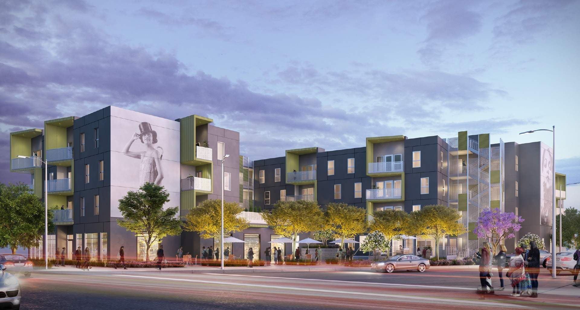 Affordable Housing Breaks Ground At Jefferson And Central Urbanize La Affordable Housing Community Housing Affordable Apartments