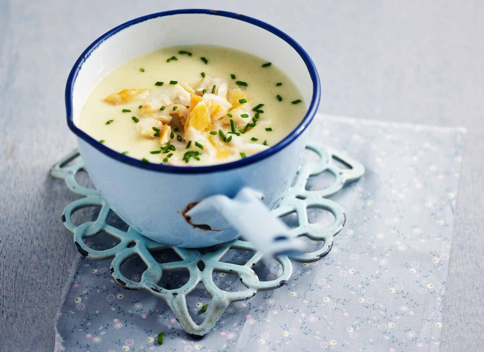 Soupe de poissons à la crème #DanOn #recette